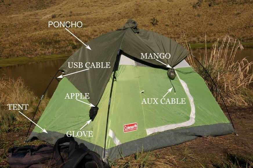 Tent hack