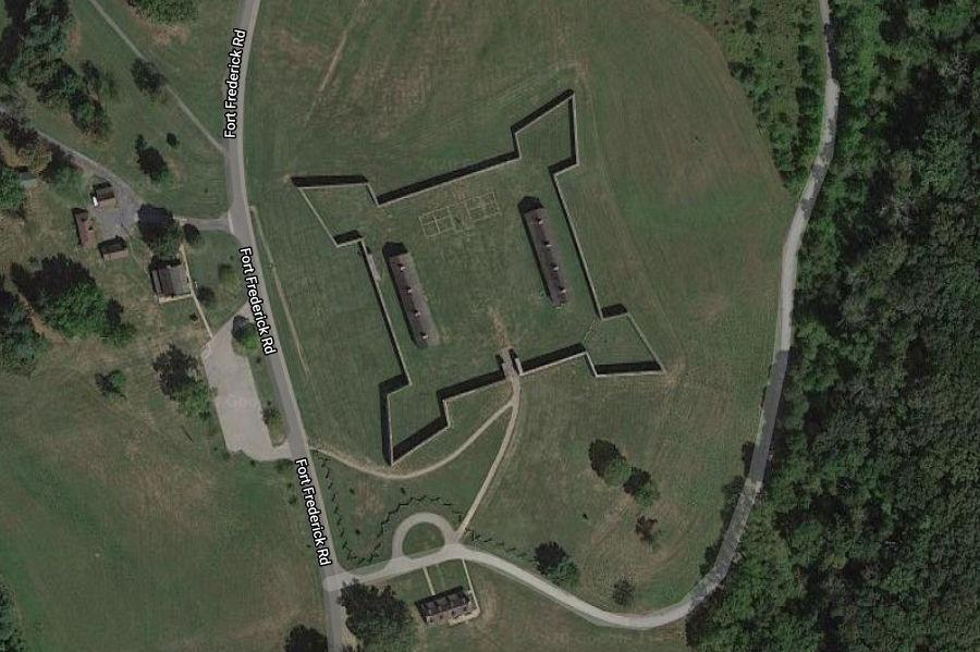 Fort Frederick gmaps screenshot